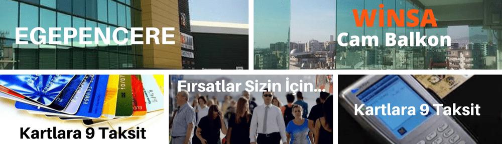 İzmir Kış bahçesi cam balkon sistemleri