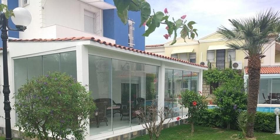 İzmir kış bahçesi cam balkon modelleri