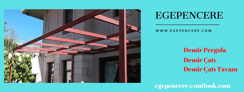 Demir pergola çatı İzmir