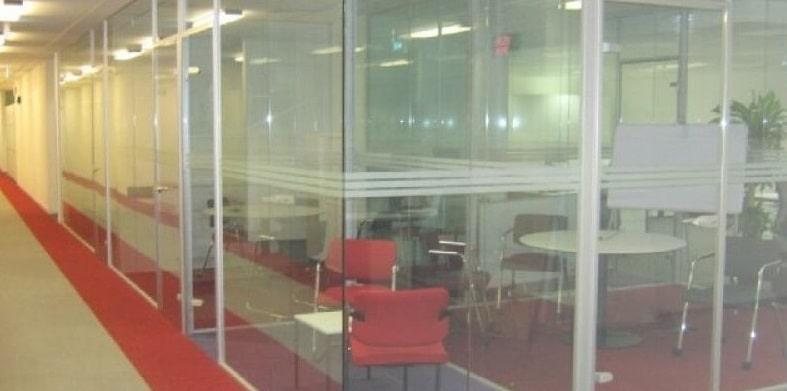 İzmir ofis bölme cam cama
