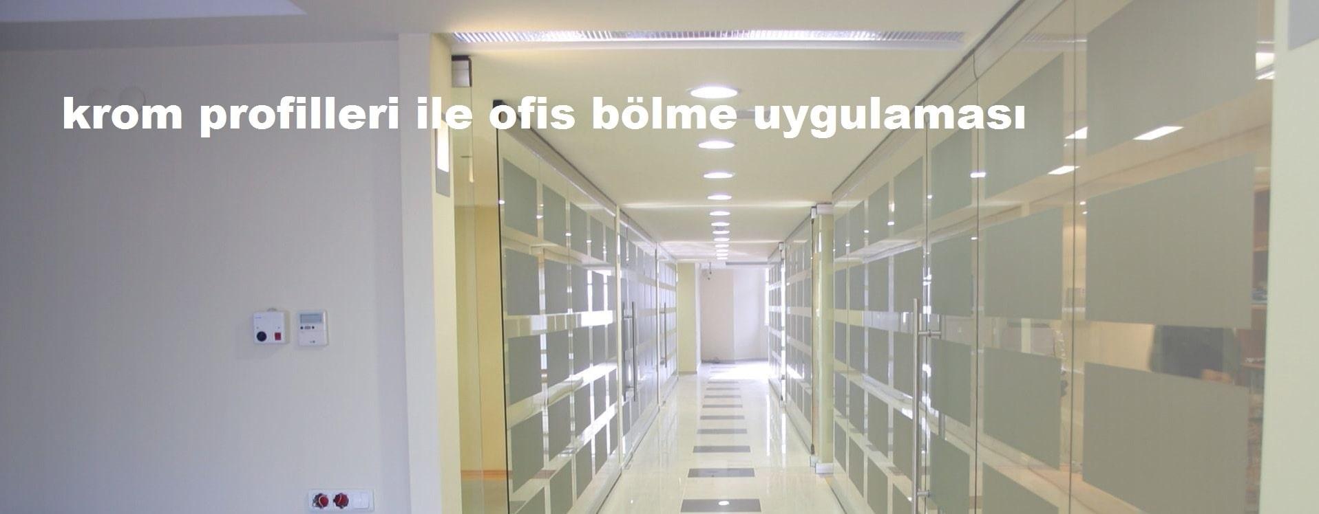 Ofis bölme tasarımları İzmir