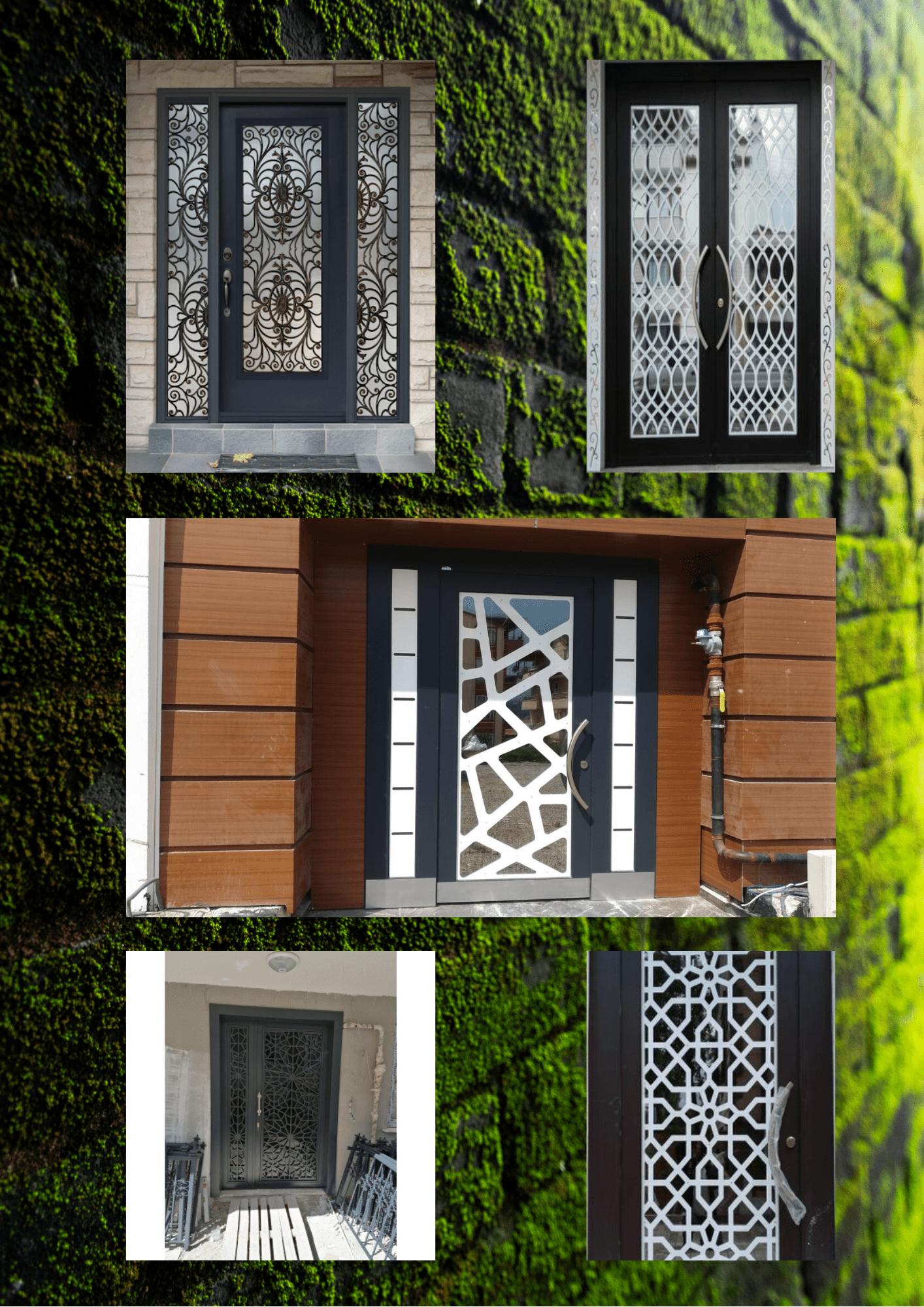 Lazer kesim villa kapısı İzmir