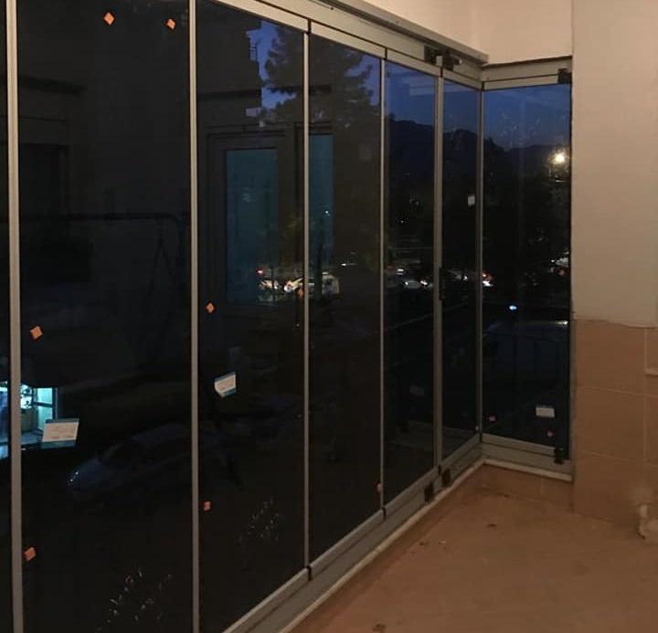 katlamalı cam balkon