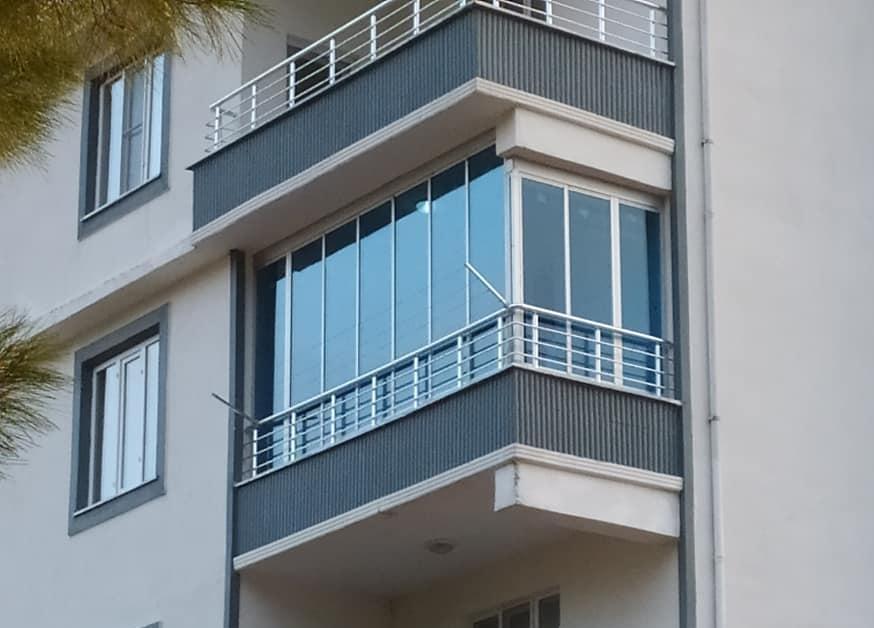 Katlanır cam balkon İzmir